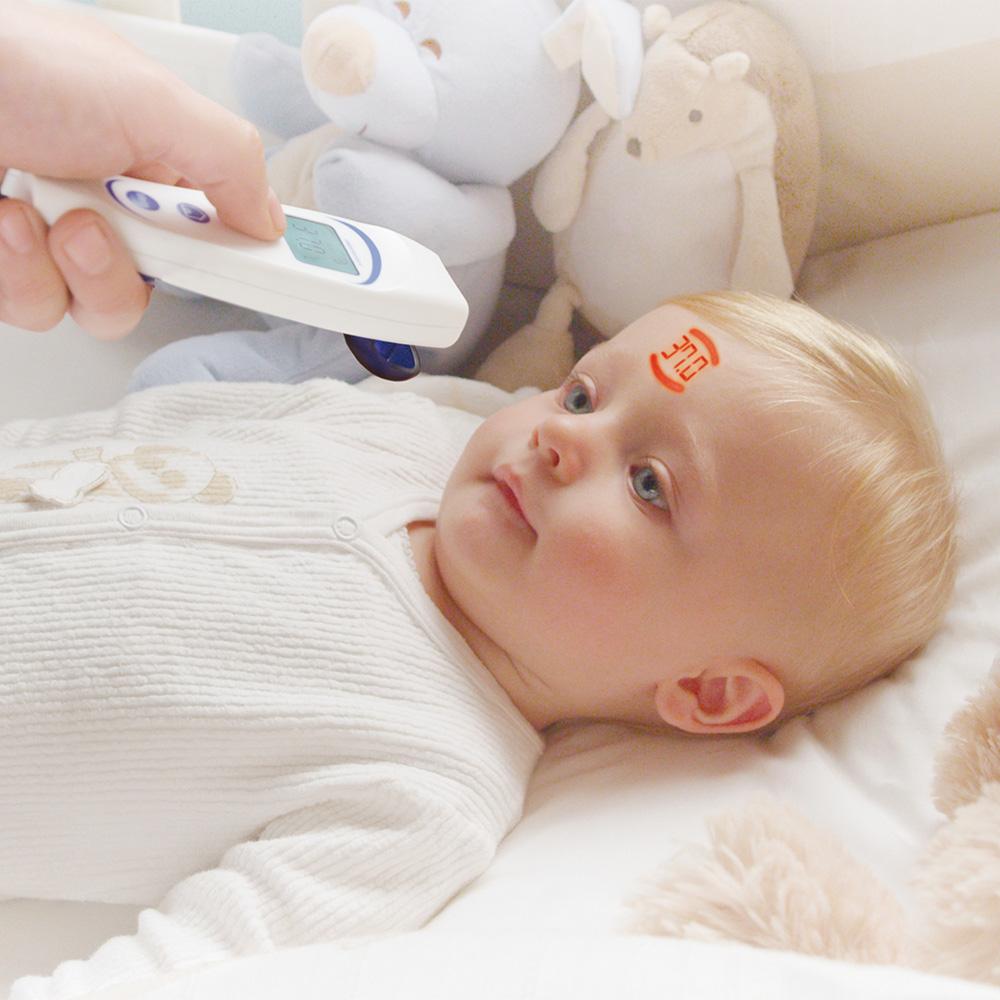 visiofocus, termometer, beröringsfri termometer, sjukhusens favorittermometer
